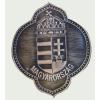 Ón csúcsos címer hűtőmágnes (8,5X7 cm)