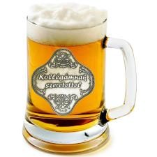Óncímkés sörös korsó Főnök, Kolléga, Szakács (1.) sörös pohár