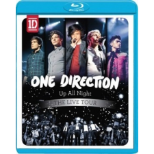 ONE DIRECTION - Up All Night Live Tour / blu-ray / BRD zene és musical