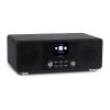 oneConcept Streamo CD, internet rádió, 2 x 10 W, WLAN, DAB+, FM, CD-lejátszó, BT, fekete
