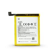 OnePlus 5 (A5000)/5T (A5010) gyári akkumulátor - Li-polymer 3300 mAh - BLP637 (ECO csomagolás) mobiltelefon kellék
