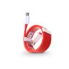 OnePlus USB - USB Type-C gyári adat- és töltőkábel 100 cm-es vezetékkel - OnePlus Fast Charge D301 - red (ECO csomagolás)