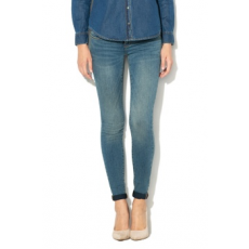 Only , Coral skinny farmernadrág, Mosott kék, W30-L32 (15159569-MEDIUM-BLUE-DENIM-W30-L32)