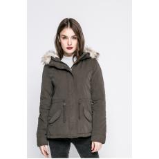 Only - Kapucnis kabát New Lucca - zöld - 1050307-zöld