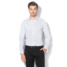 Only & sons , Alfredo mintás extra slim ing, Fehér / Fekete, L (22010504-WHITE-L)
