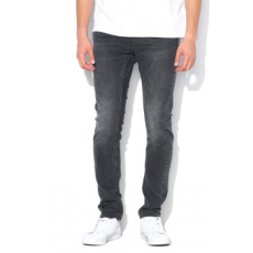 Only & sons , Loom slim fit farmernadrág, Sötétszürke, W33-L34 (22010447-BLACK-DENIM-W33-L34)
