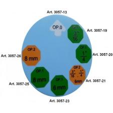 """OP1 peremezőfej, 1/4"""" a BGS 3057 fékcsőperemezőhöz (BGS 3057-20) autójavító eszköz"""