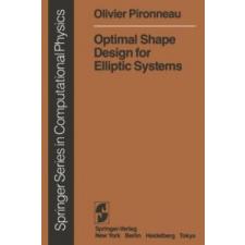 Optimal Shape Design for Elliptic Systems – Olivier Pironneau idegen nyelvű könyv