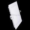 Optonica 12W mini led panel négyzet alakú (opál üveg, hideg fehér)