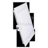 Optonica 12W mini led panel négyzet alakú (opál üveg, természetes fehér)