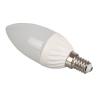 Optonica LED lámpa égő, E14 foglalat, gyertya forma, 6 watt, meleg fehér