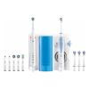 Oral-B Elektromos Fogkefe + Fogászati szájzuhany Oral-B SMART5000+OXYJET Bluetooth Fehér