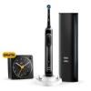 Oral-B Genius X 20100 Black Limited Design Edition elektromos fogkefe Braun ébresztő órával