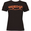 Orange Classic Ladies Brown Orange T-Shirt, Small
