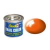 Orange gloss makett festék Revell 32130
