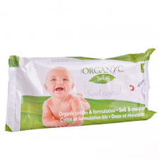 Organ(y)c 100% organikus nedves törlőkendő 60 db törlőkendő