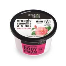 Organic Shop Japán kamélia testápoló krém, 250 ml testápoló