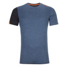 Ortovox 185 Rock'N'Wool Short Sleeve M XL / kék férfi póló