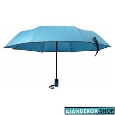 Összecsukható automata esernyő, világoskék