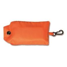 Összecsukható, poliészter bevásárló táska, narancs