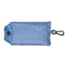 Összecsukható, poliészter bevásárló táska, világoskék kézitáska és bőrönd