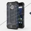 OTT! MAX DEFENDER mûanyag védõ tok / hátlap - SÖTÉTKÉK - szilikon belsõ, ERÕS VÉDELEM! - MOTOROLA Moto G5S