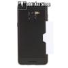 OTT! MOBILE OTT! Brush Card2 mûanyag védõ tok / hátlap - FEKETE - szálcsiszolt mintázat, szilikon belsõ, bankkártya tartó - ERÕS VÉDELEM! - SAMSUNG SM-A530F Galaxy A8 (2018)