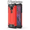 OTT! MOBILE OTT! MAX DEFENDER műanyag védő tok / hátlap - PIROS - szilikon belső, ERŐS VÉDELEM! - MOTOROLA Moto E5 Plus (2018)