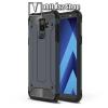 OTT! MOBILE OTT! MAX DEFENDER műanyag védő tok / hátlap - SÖTÉTKÉK - szilikon belső, ERŐS VÉDELEM! - SAMSUNG SM-A605G Galaxy A6 Plus (2018)