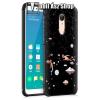 OTT! MOBILE OTT! SHOCKPROOF SERISES szilikon védõ tok / hátlap - világûr mintás, erõs védelem! - FEKETE - XIAOMI Redmi Note 5 / XIAOMI Redmi 5 Plus