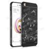 OTT! MOBILE OTT! SHOCKPROOF szilikon védõ tok / hátlap - FEKETE - SÁRKÁNY MINTÁS - ERÕS VÉDELEM! - Xiaomi Redmi 5A