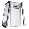 OTT! TOUGH PROTECTOR mûanyag védõ tok / hátlap - EZÜST - szilikon belsõ, csúszásgátlós felület, ERÕS VÉDELEM! - SAMSUNG SM-N950F Galaxy Note8