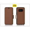 Otterbox Samsung G955F Galaxy S8 Plus flipes védőtok - OtterBox Strada - saddle brown