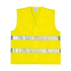 Oxford láthatósági mellény, sárga 3XL (70204OXF)