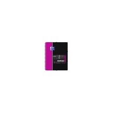 Oxford Spirálfüzet, A4+, kockás, 80 lap, OXFORD, Student Nomadbook füzet