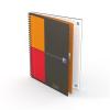 """Oxford Spirálfüzet, B5, kockás, 80 lap, OXFORD, """"International Notebook"""""""