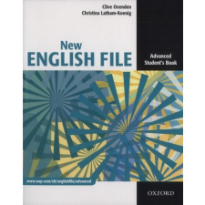Oxford University Press NEW ENGLISH FILE ADVANCED SB nyelvkönyv, szótár