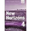 Oxford University Press Paul Radley - Daniela Simons - Kelemen Ferenc: New Horizons 4 Munkafüzet