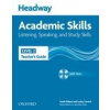 Oxford University Press Sarah Philpot - Lesley Curnick: Headway Academic Skills 2 Listening and Speaking Teacher's Guide with Tests CD-ROM