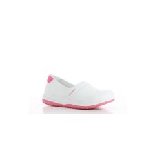 OXYPAS Cipő fehér-rózsaszín OXYPAS SUZY SRC ESD 40 munkavédelmi cipő
