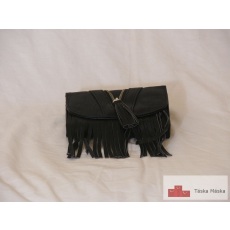 P100 Simon fekete rojtos női pénztárca