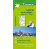 Pacific Northwest térkép - Michelin 171