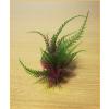 Palás akváriumi műnövény vöröses-zöld levelekkel (15 cm)