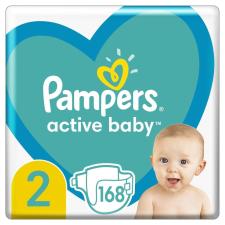 Pampers 2-es méretű Active Baby pelenka, 168 db, fehér pelenka