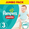 Pampers 60 db-os  ActivePants 3 Midi Jumbo Pack bugyipelenka