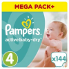 Pampers Active Baby-Dry Pelenka 4-as (Maxi), 144 db (8001090459640)