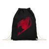 Pamutlabor Fairy Tail logó tornazsák