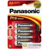 Panasonic 1.5V Alkáli AA ceruza elem Pro power (4db / csomag) /LR6PPG/4BP/