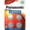 Panasonic CR2032EL/4B lítium gombelem (4db / bliszter)