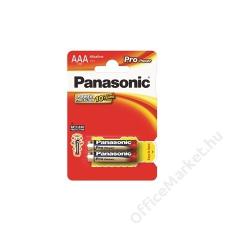 "Panasonic Elem, AAA mikro, 2 db, PANASONIC ""Pro power"" (PEGAAA2) speciális elem"